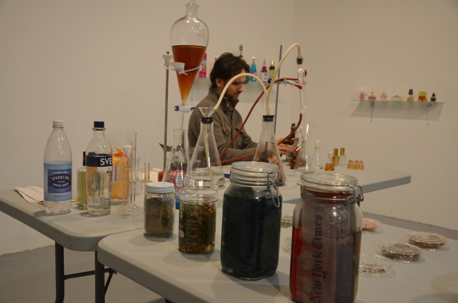 Cabinet of Smells, EFA Project Space, 2015