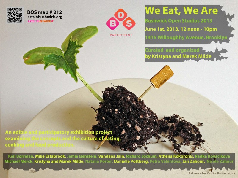 We eat, We are, BOS 2013  web